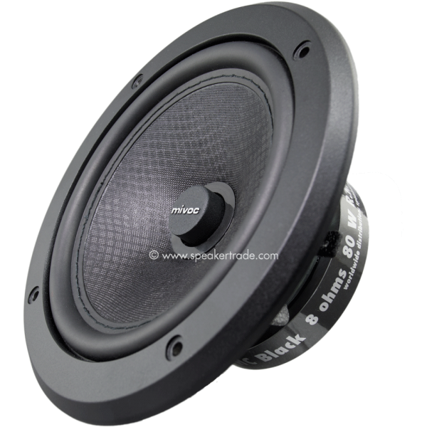 "mivoc XAW 180 HC black 6,5"" (16,5 cm) Tieftonsyst."